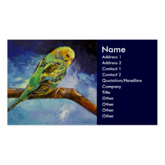 Parakeet Business Card