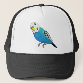 Parakeet Drawing Trucker Hat