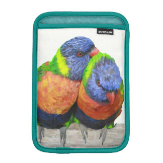 Parakeet Lovebirds iPad Mini Sleeve