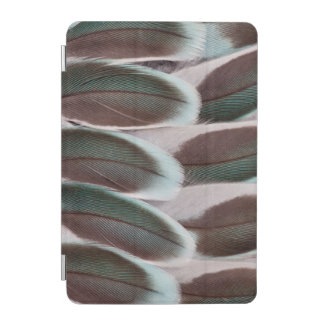 Parakeet Wing Feather Design iPad Mini Cover