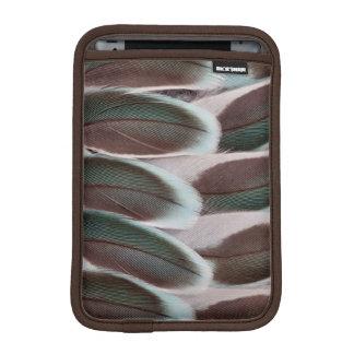 Parakeet Wing Feather Design iPad Mini Sleeve