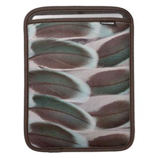 Parakeet Wing Feather Design iPad Sleeve