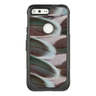 Parakeet Wing Feather Design OtterBox Commuter Google Pixel Case