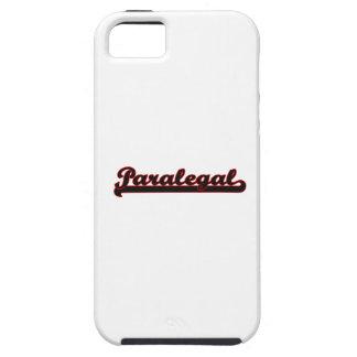 Paralegal Classic Job Design iPhone 5 Covers