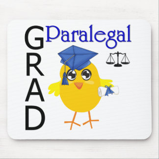 Paralegal Grad Mouse Pad