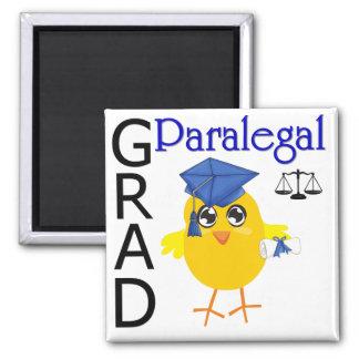 Paralegal Grad Square Magnet