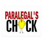PARALEGAL'S CHICK POST CARD