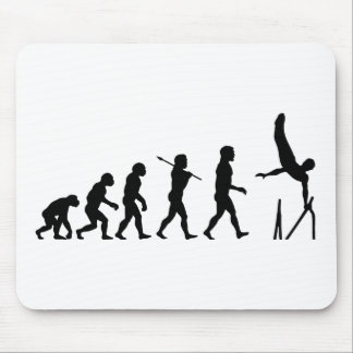 Parallel Bars Gymnastics Evolution Mouse Pad
