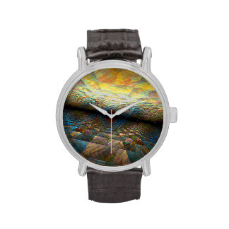 Parallel Planes Wrist Watch