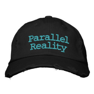 Parallel Reality Embroidered Baseball Caps