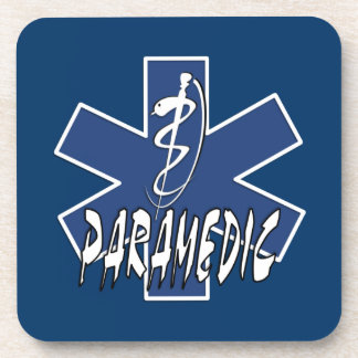 Paramedic Action Drink Coaster