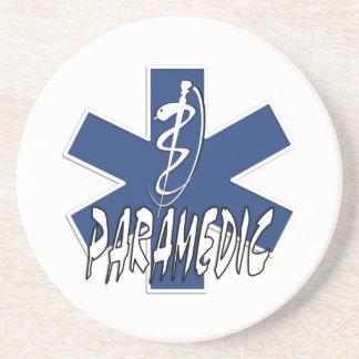 Paramedic Active Star of Life Drink Coaster
