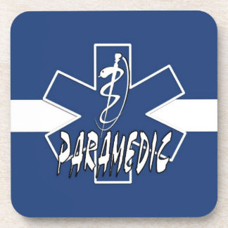 Paramedic Active Star Of Life Drink Coasters