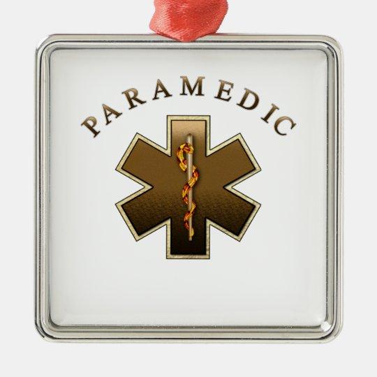Paramedic Christmas Ornament