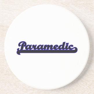 Paramedic Classic Job Design Beverage Coaster