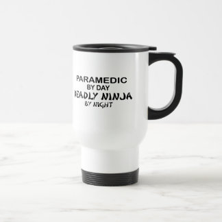 Paramedic Deadly Ninja by Night Stainless Steel Travel Mug