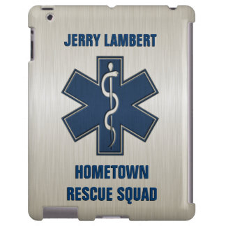 Paramedic Deluxe Name Template iPad Case