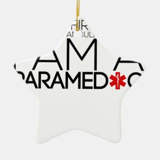 paramedic design cute christmas ornament