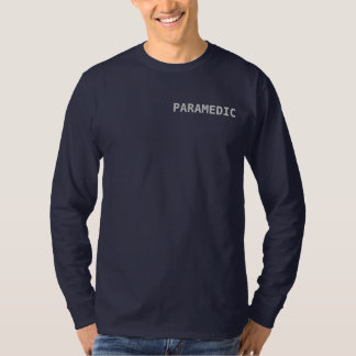 Paramedic EMT EMS Ambulance Firefighter Duty Shirt