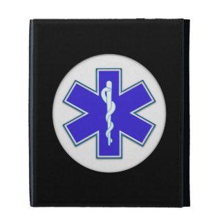 Paramedic EMT EMS iPad Folio Cover