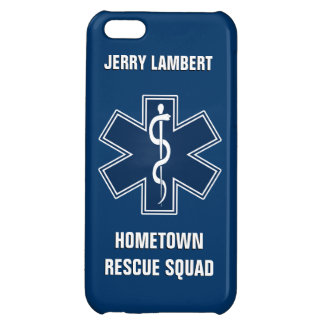 Paramedic EMT EMS Name Template iPhone 5C Case