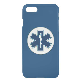 Paramedic EMT EMS Rod of Asclepius iPhone 7 Case