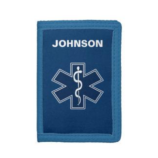 Paramedic EMT EMS Trifold Wallets