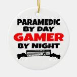 Paramedic Gamer Christmas Tree Ornament
