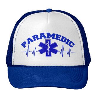 Paramedic Heart Monitor Cap Mesh Hat