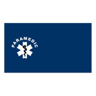 Paramedic Logo Theme Business Card Templates