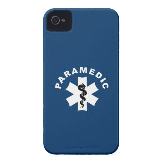 Paramedic Logo Theme iPhone 4 Cover