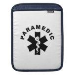 Paramedic Logo Theme Sleeve For iPads