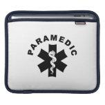 Paramedic Logo Theme Sleeves For iPads