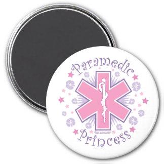 Paramedic Princess 7.5 Cm Round Magnet