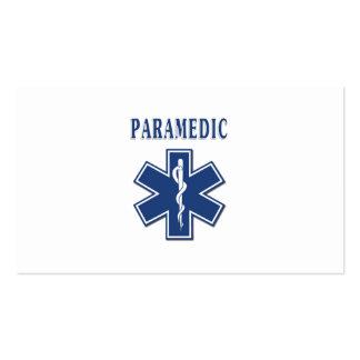 Paramedic Star of Life Business Card