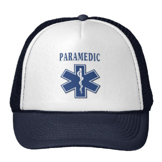 Paramedic Star of Life Mesh Hat