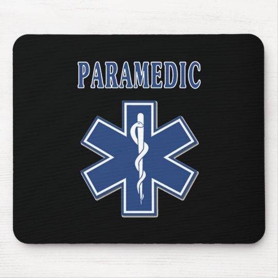Paramedic Star of Life Mouse Mat