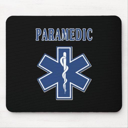 Paramedic Star of Life Mouse Pad