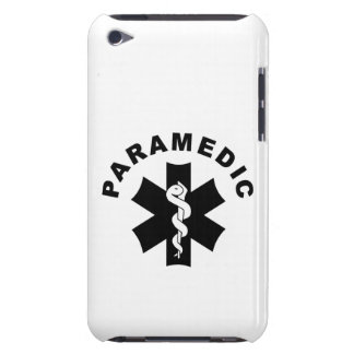 Paramedic Theme iPod Touch Case