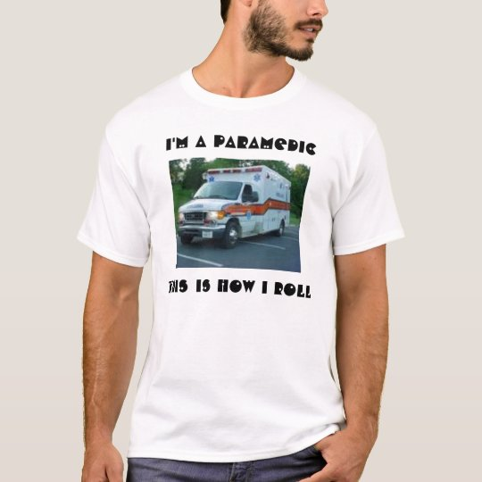 Paramedic's Ambulance T-Shirt
