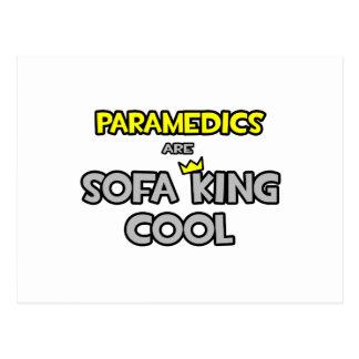 Paramedics Are Sofa King Cool Postcard