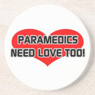 Paramedics Need Love Too Beverage Coaster