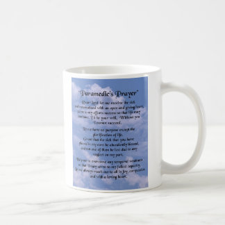 paramedics prayer mug