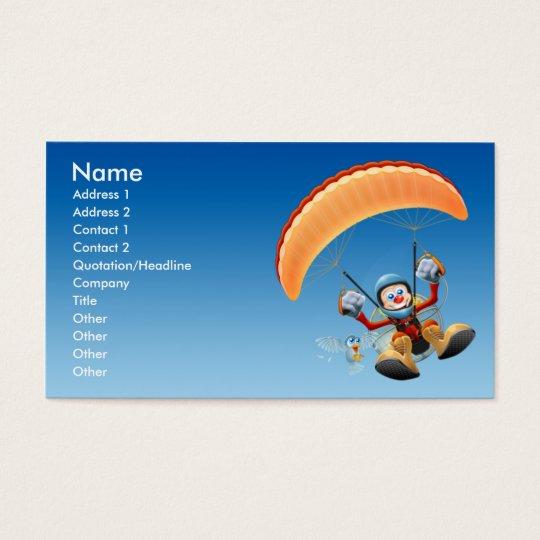 Paramotor Business Card - Regular