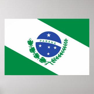 Parana, Brazil flag Print