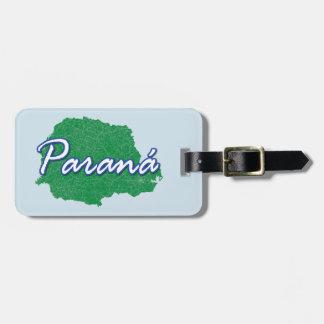 Paraná Luggage Tag