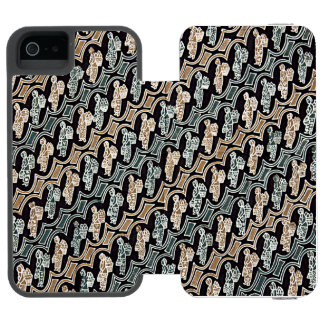 Parang Gendong Jamu Batik Incipio Watson™ iPhone 5 Wallet Case