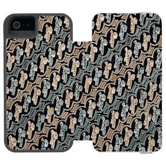 Parang Gendong Jamu Batik Incipio Watson™ iPhone 5 Wallet Case