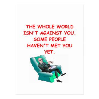 paranoid post card