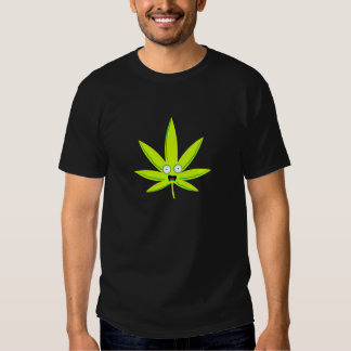 Paranoid Pot Leaf Shirts